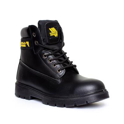 Shoe Zone Steel Toe Cap Boots