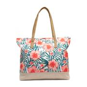 Lilley Blue Daisy Print Satchel Bag (Click For Details)