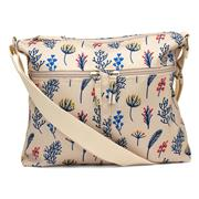 Lilley Tan Butterfly Print Handbag (Click For Details)