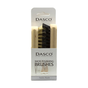 Dasco Twin Shoe Polishing Brush Set (Click For Details)