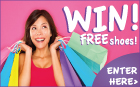 Free Prize Draw - Win Free Shoes for a Year up to the Value of £300