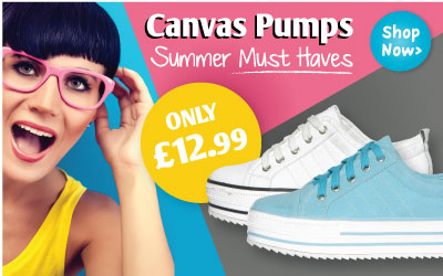Canvas Pumps