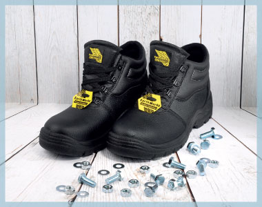 safety boots for shoe zone