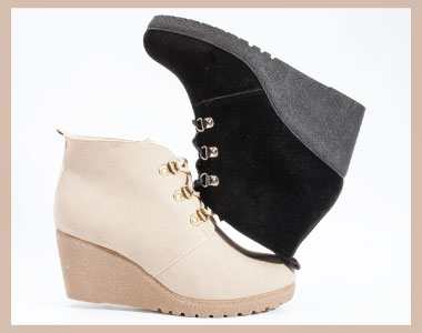 womens wedge boots ankle boots shoe zone