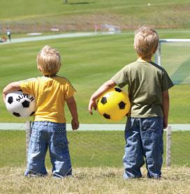 Boys Easy Fasten Trainers