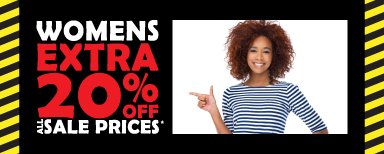 Womens Extra 20% off All Sale Prices