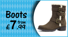 Boots from £7.99