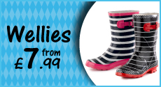 Wellies from £7.99