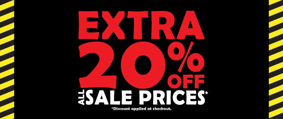 Extra 20% off All Sale Prices