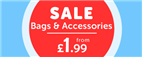 Sale Bags & Accessories from £1.99