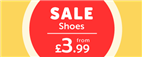 Sale Shoes from £3.99