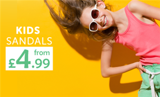 Kids Sandals from £4.99