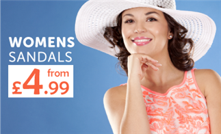 Womens Sandals from £4.99