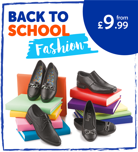Back to School Fashion from £9.99