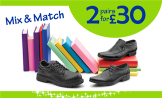 Mix & Match 2 pairs for £30
