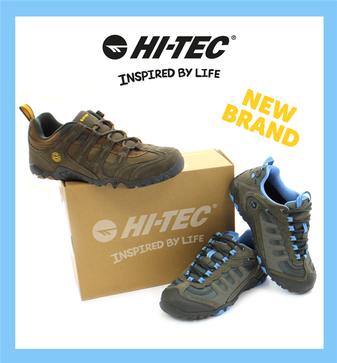 New Brand Hi-Tec Inspired By Life