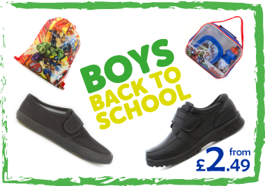Boys Back to School Essentials