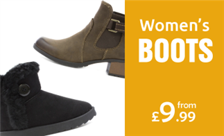 Women's Boots from £9.99