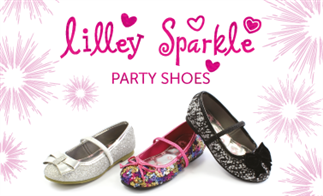 Lilley Sparkle Party Shoes
