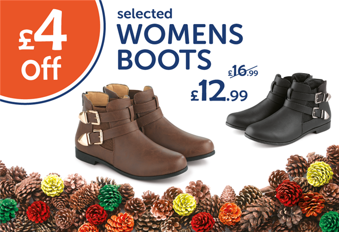 £4 off selected Womens Boots