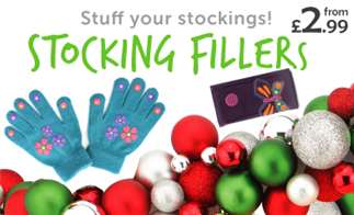 Stuff your stockings! Stocking Fillers from £2.99