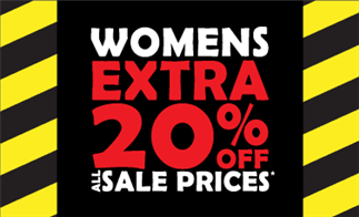 Womens Extra 20% off All Sale Prices*