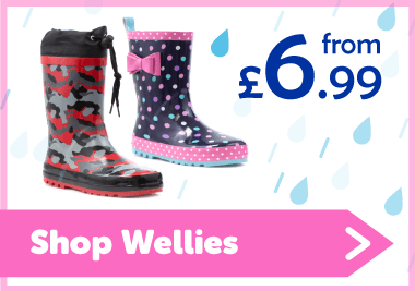 Shop Wellies from £6.99