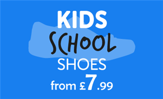 Kids School Shoes from £7.99