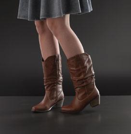 Womens Calf Boots