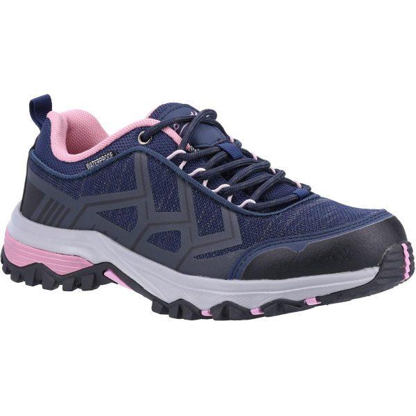 Cotswold Womens Wychwood Hiking Shoe in Navy