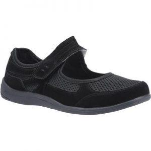 Fleet & Foster Women's Morgan Black Leather Shoe
