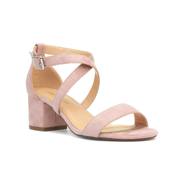 Lilley & Skinner Hallie Womens Nude Heeled Sandal