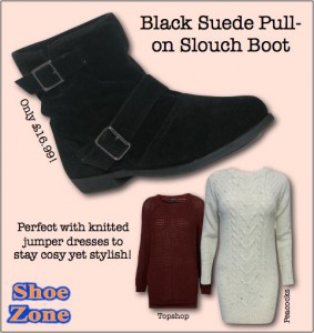 Find these cute black slouch boots here