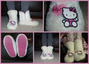 Hello Kitty Bootie Slipper