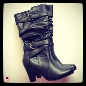 Black Calf Boots