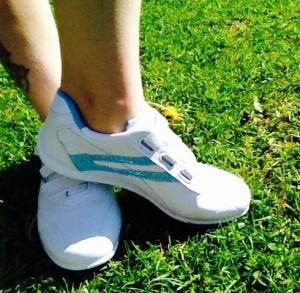 Womens Velcro Trainer