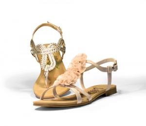 Gold-Sandal