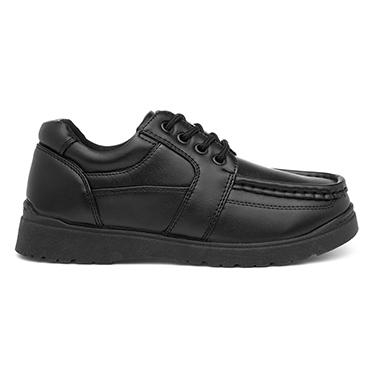 Trux Boys Black Lace Up Shoe