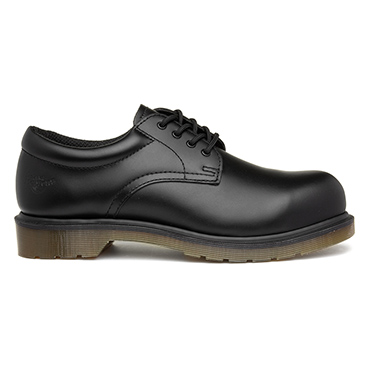 Dr.Martens Mens Black Leather Lace Up Safety Shoe