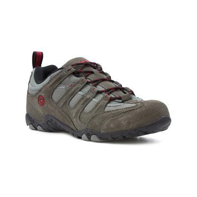 Hi-Tec Mens Charcoal Lace Up Walking Shoe