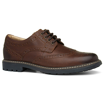 Catesby Brown Lace Up Brogue Shoe