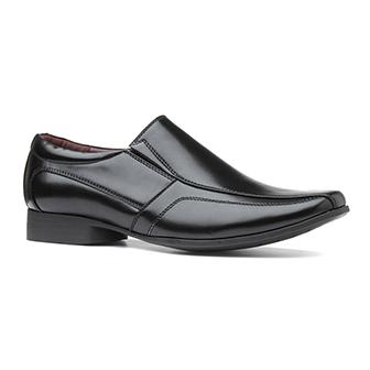 Beckett Mens Black Formal Slip On Shoe
