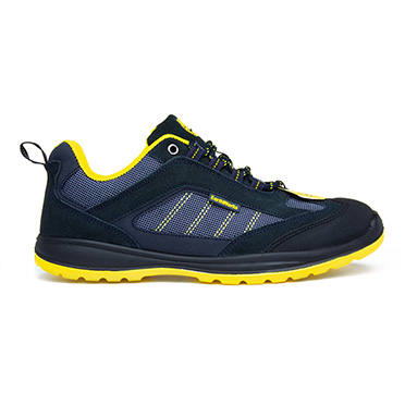 Earth Works Safety Blue & Yellow Lace Up Safety Shoe