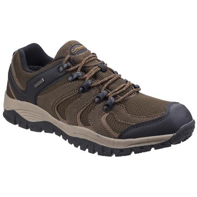 Cotswold Mens Stowell Low Hiking Shoe in Brown
