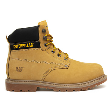 CAT Powerplant Mens Honey Lace Up Safety Boot