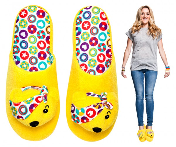 Adult Pudsey Slippers