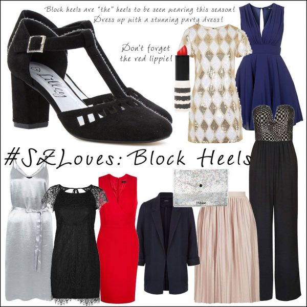 Autumn Winter Trends Block Heeled Shoes