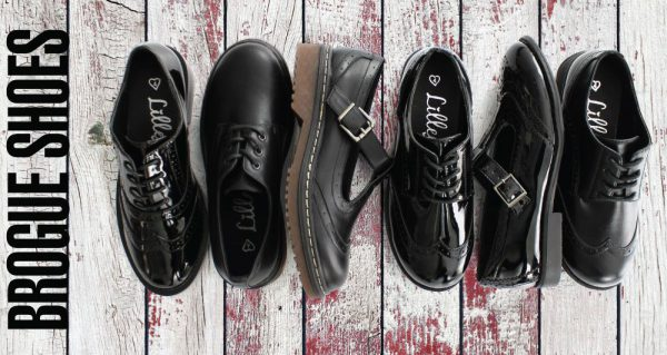 Autumn Winter Brogue Shoes