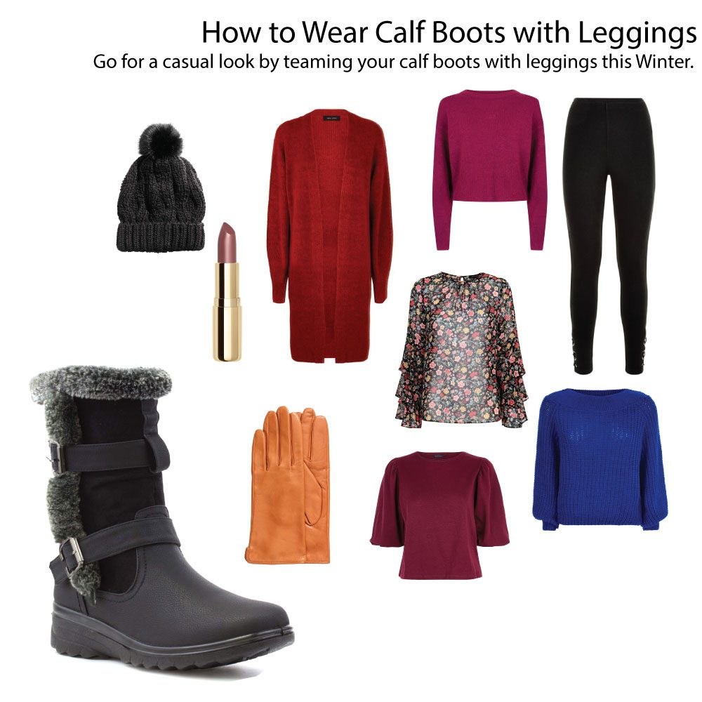 Calf-Boots-With-Leggings
