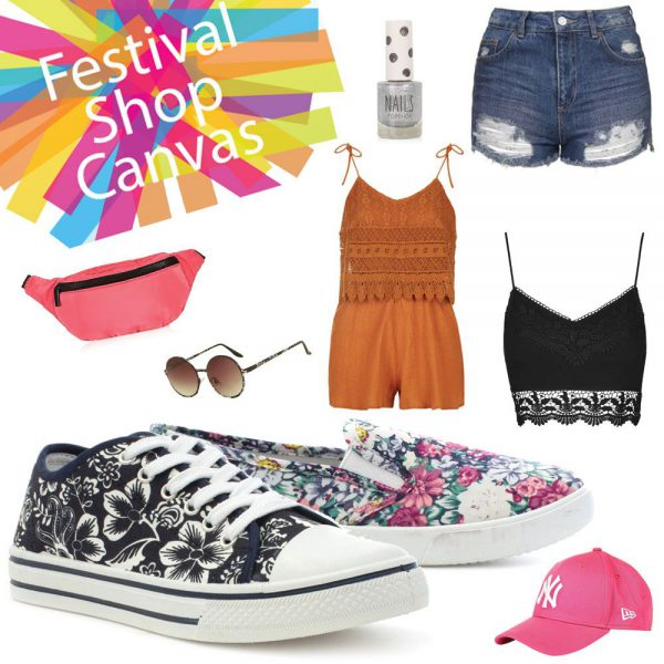 Womens Festival Footwear Canvas Shoes
